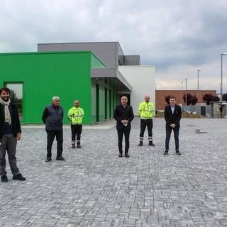 Fabio Carosso in visita alla nuova sede della Croce Verde di Nizza Monferrato