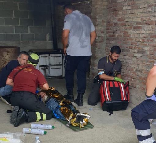 Castelnuovo Don Bosco: Teresio sta bene. Era riverso tra i rovi a 500 metri in linea d'aria da casa
