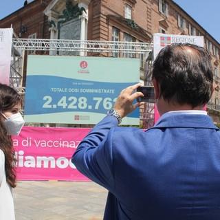 """Cirio sui vaccini anti Covid: """"Piemonte miglior regione d'Italia per dosi somministrate"""" [VIDEO]"""
