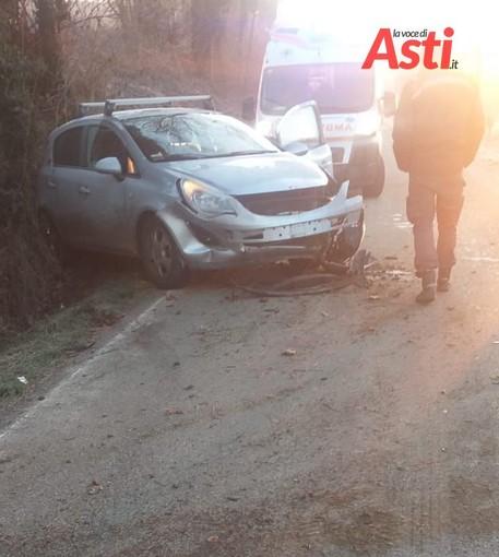 Auto esce di strada in Località Valle Manina. Soccorse dal 118 mamma e figlia