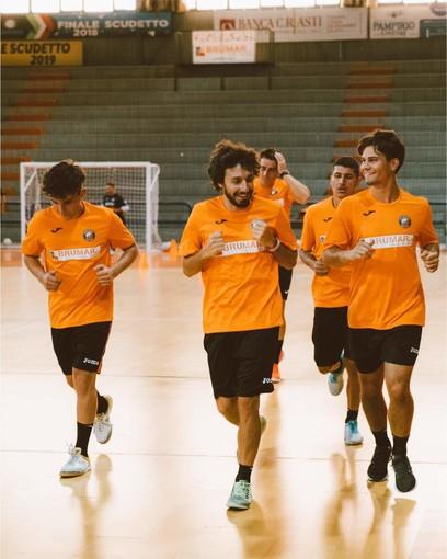 Allenamenti dell'Orange Futsal Asti