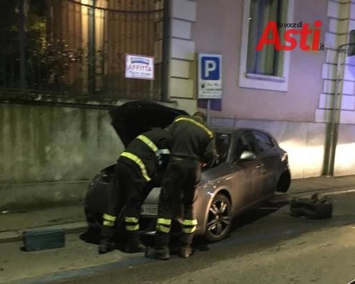 Asti: incidente in via Verdi. Sul posto Vigili del Fuoco e personale sanitario