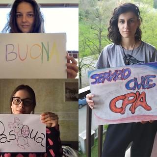 Dal Cpia Asti le storie a distanza di Ana, Irene e Susanna, volontarie del servizio civile