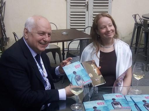 Wytske Wersteeg con Carlo Cerrato