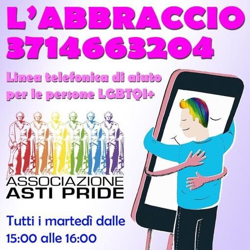 """Continua l'attività della linea telefonica """"L'Abbraccio"""", per supportare le persone LGBTQI+"""