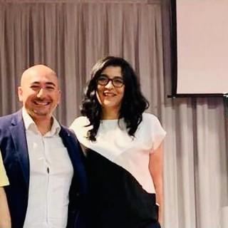 Nella foto, da sinistra: Federico De Martino, Carlo Cervi e Paola Usai