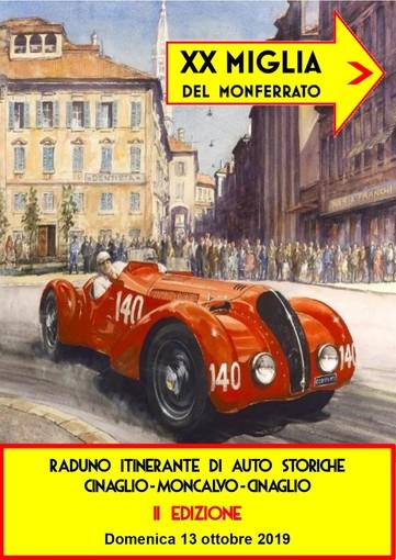 Domenica Cinaglio tornerà ad ospitare splendide autovetture d'epoca
