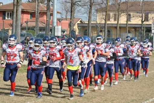 Nuovi allenamenti per l'Alfieri Asti American Football, in vista del prossimo Campionato