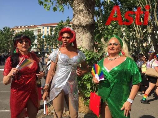 Un'immagine dell'Asti Pride 2019