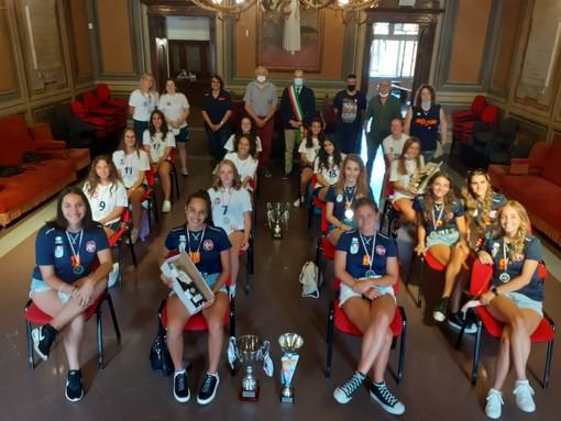 Ricevute in Municipio le squadre under 17 e under 18 ASD New Volley 0141 Asti