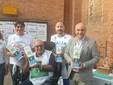 Vincenzo Soverino con sindaco e assessori