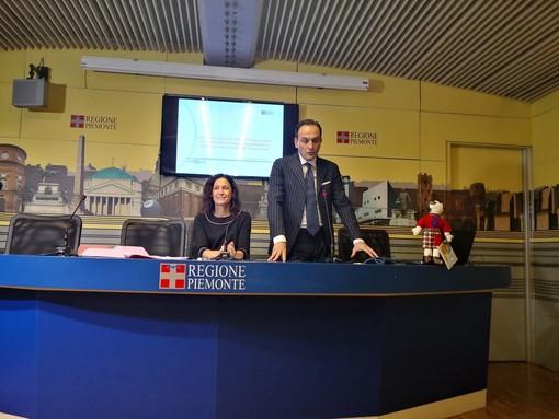 Alberto Cirio con Chiara Caucino