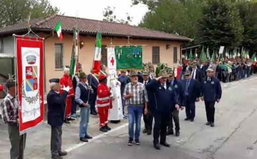 Grandi festeggiamenti a Piea per i 55 anni di fondazione degli Alpini