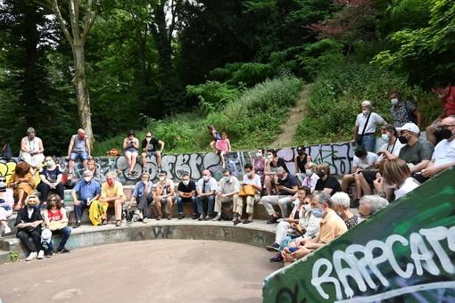 """""""Al bosco dei Partigiani c'eravamo anche noi. Un parco per essere sicuro deve essere vissuto dalla comunità"""""""