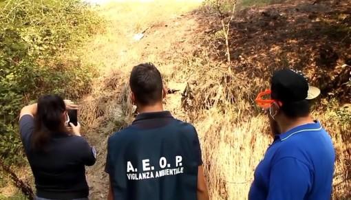 Eternit sepolto in corso Alba? Dopo l'intervento dell'Aeop, informato anche l'ufficio Ambiente del Comune [FOTO E VIDEO]