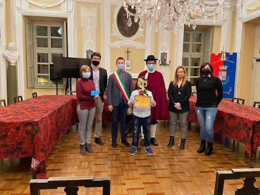 Comune di San Damiano, premiato il vincitore di Carnevale in Ecomaschere