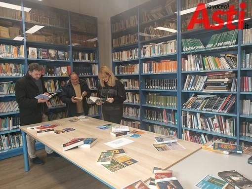 San Damiano: 43 nuovi libri per la Biblioteca Nosengo