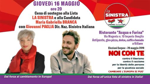 Elezioni europee, la candidata Maria Gabriella Branca e Giovanni Paglia trattano il tema del dumping sociale