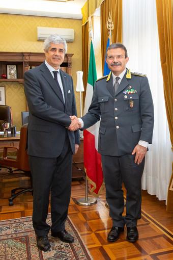 Il Generale Giuseppe Vicanolo ha fatto visita al Comando provinciale della Guardia di Finanza di Asti