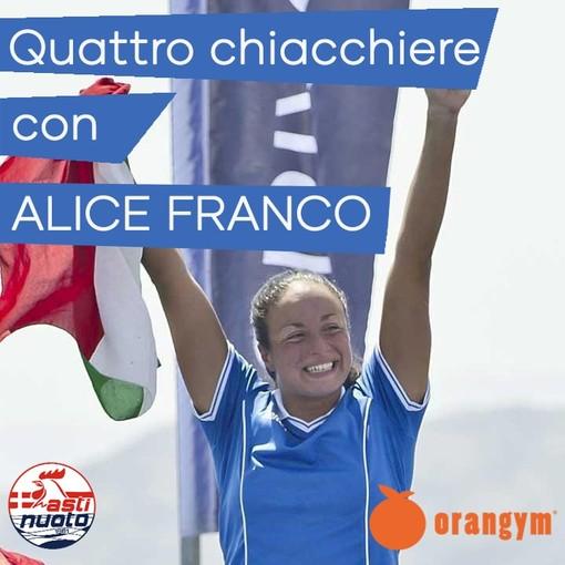 L'astigiana Alice Franco saluta il nuoto ed entra nel corpo militare degli Alpini di Brunico
