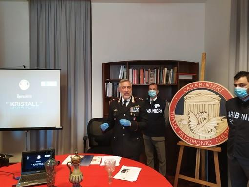Da Dusseldorf al Piemonte, beni storici della Germania recuperati dai Carabinieri dopo vent'anni [VIDEO]
