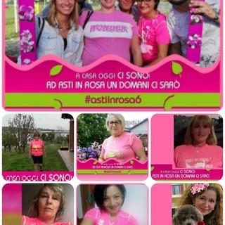 Asti in Rosa 6, la camminata per sconfiggere in cancro si è corsa virtualmente