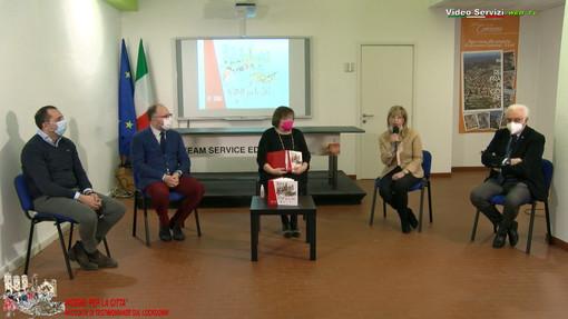 Un momento della presentazione, curato da VideoServizi