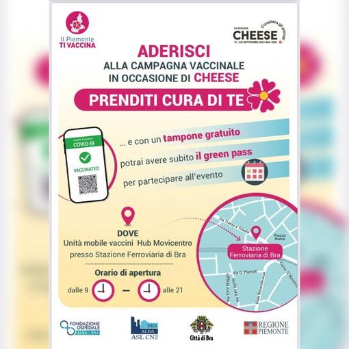 Unità mobile in Piemonte nei grandi eventi con vaccino e tampone gratuito per il green pass