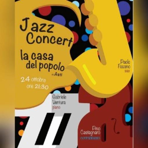 Continuano gli appuntamenti alla Casa del Popolo, sabato 24 ottobre cena e serata jazz