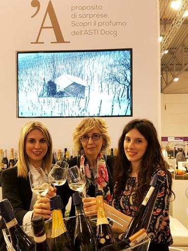 Al Vinitaly di Verona il Consorzio dell'Asti trova apprezzamenti e nuovi mercati