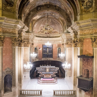 La chiesa di San Rocco, ad Asti