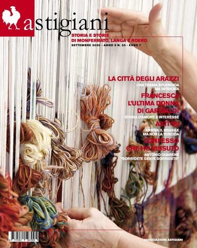 """Sabato 26 si presenta il nuovo numero della rivista trimestrale """"Astigiani"""""""