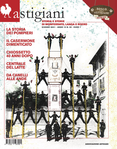 """Il numero 35 della rivista """"Astigiani"""" si svela al pubblico sabato 19 giugno nel cortile del Penna di Viatosto"""