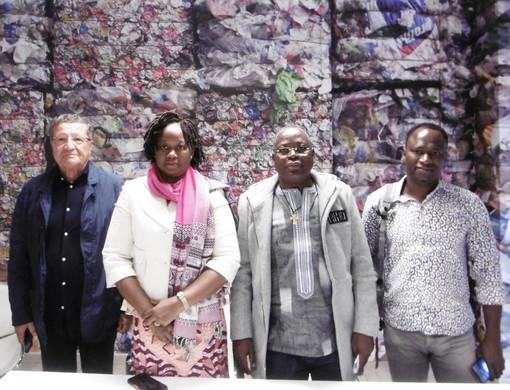 Ad Asti, delegati del Burkina Faso visitano gli impianti di GAIA