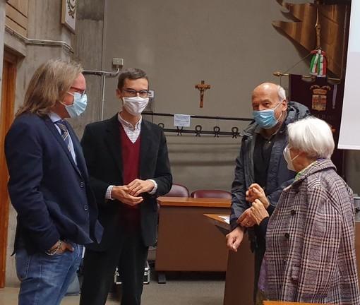 Gianluca Forno, Paolo Lanfranco, Beppe Rovera, Laurana Lajolo