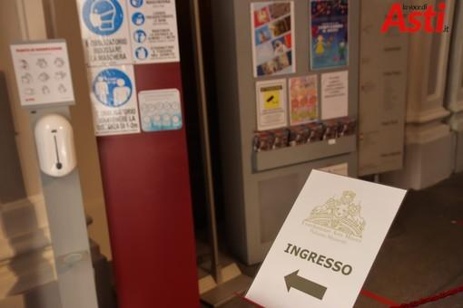 L'ingresso in sicurezza a Palazzo Mazzetti