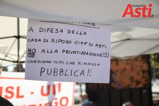 """Casa di Riposo Città di Asti, la rabbia dei sindacati: """"Nessuno si chiami fuori. Si sta lasciando morire un pilastro della sanità"""""""