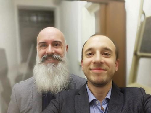 Riccardo Fassone con Paolo Furia