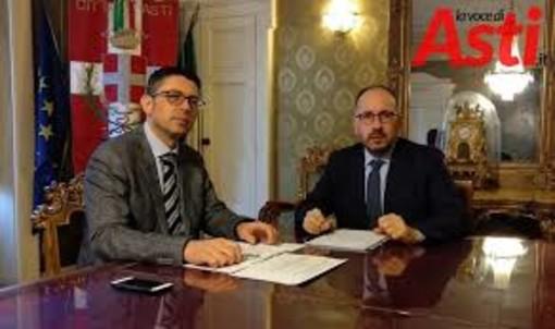 Il Segretario Formichella con il sindaco Rasero (immagine di archivio)