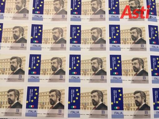 Svelato il francobollo commemorativo in ricordo di Giovanni Goria, a 25 anni dalla scomparsa (FOTO E VIDEO)