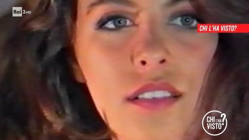 La modella in una foto della trasmissione 'Chi l'ha visto'