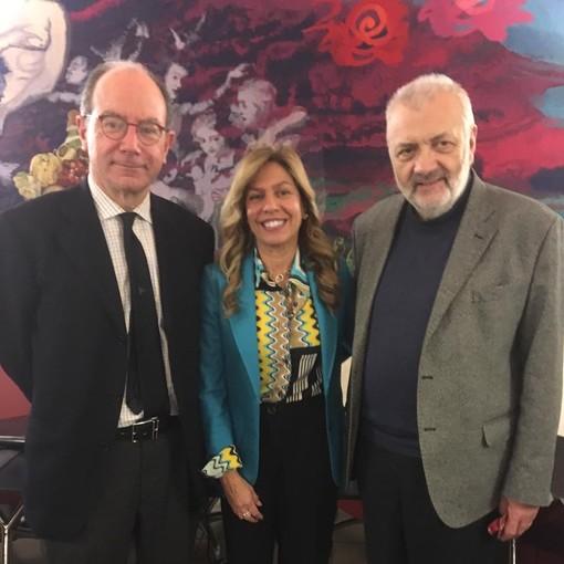 L'avv. Florio insieme a Piergiorgio Bricchi e a Rita Balistreri