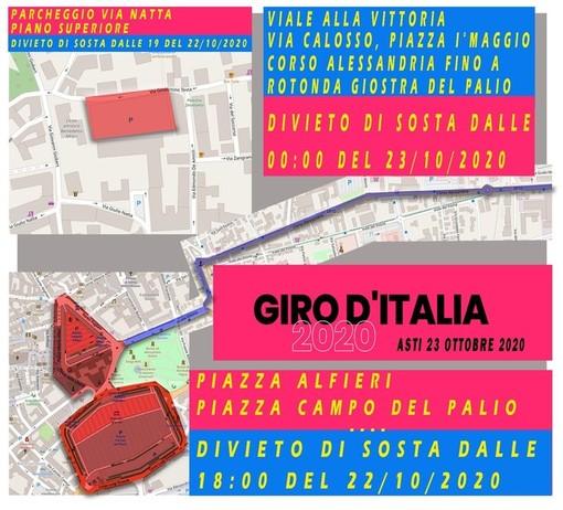 Il Covid non ha fermato l'arrivo del Giro d'Italia ad Asti. Oggi il grande giorno