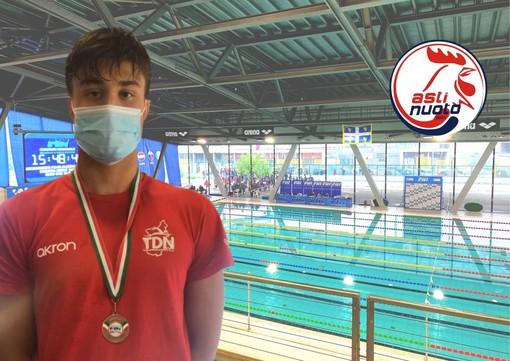 Andrea Giordano, atleta dell'Asti Nuoto