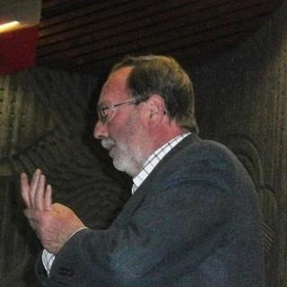 Giuseppe Fassino durante un convegno (foto Osservatorio del paesaggio)