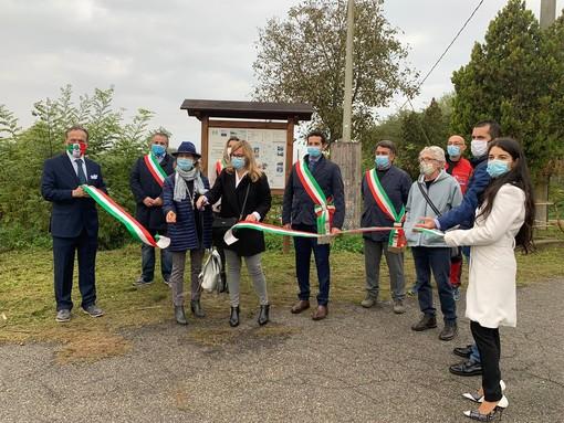 """Inaugurato il percorso cicloturistico ed escursionistico """"Dal torrente Belbo ai paesaggi delle colline UNESCO"""""""