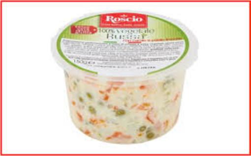 Allergene non dichiarato, insalata russa vegetale richiamata dal mercato