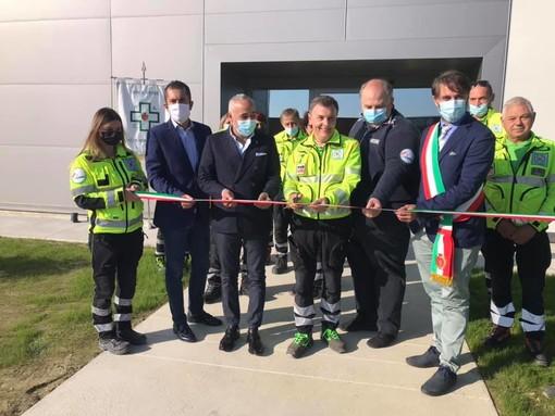 L'inaugurazione della sede di via Croce Verde