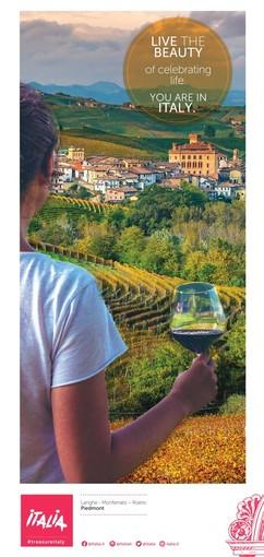 Il territorio di Langhe Monferrato Roero protagonista della campagna di promozione dell'Italia nel mondo