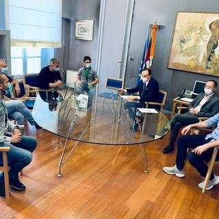 L'incontro dei rappresentanti NurSind con il presidente Cirio